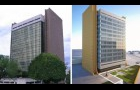 Richard H. Poff Building before/after